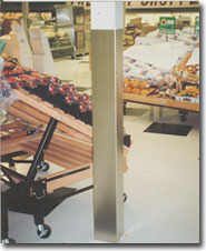 stainless square column wraps