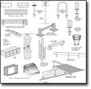 detailed fabrication drawings
